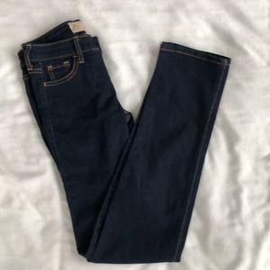 Hollister Dark Wash Skinny Jeans, Size 0R